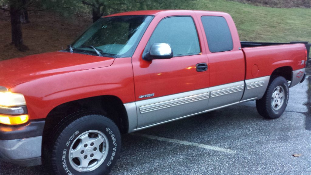 1999 chevrolet silverado 1500 ls extended cab 4 4 pickup for sale. Black Bedroom Furniture Sets. Home Design Ideas