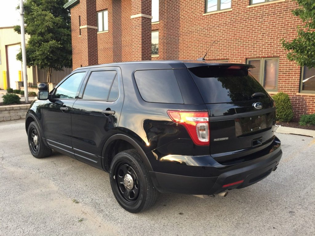 2014 Ford Explorer Police Interceptor 3 7l Awd For Sale
