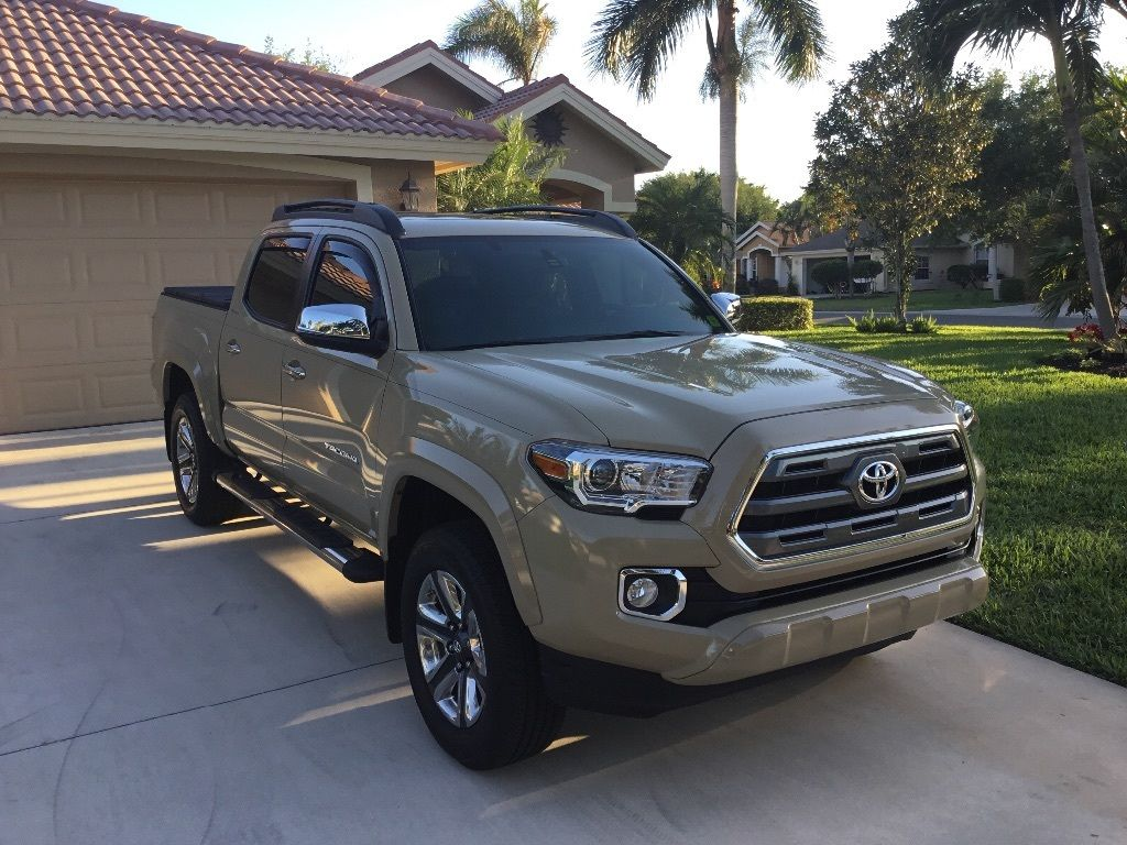 Almost New 2016 Toyota Tacoma Limited 4 215 4 For Sale