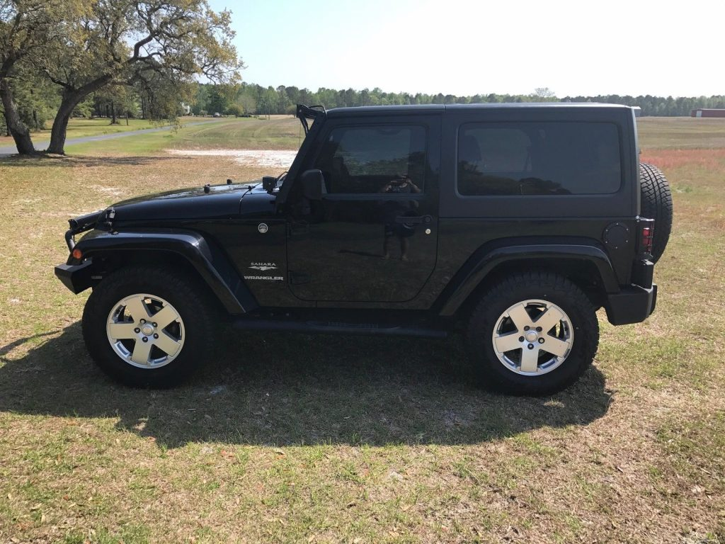 Reliable 2010 Jeep Wrangler Sahara 4×4