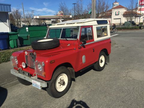 Remarkable condition 1971 Land Rover Defender 4×4 for sale