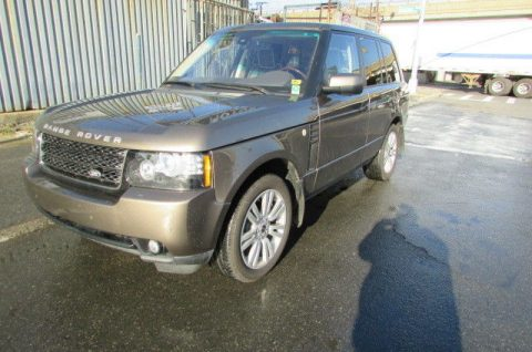 Repaired 2012 Land Rover Range Rover HSE LUX 4×4 for sale