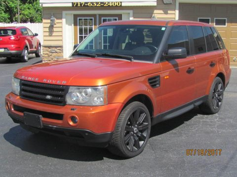 Supercharged 2006 Land Rover Range Rover Sport 4×4 for sale
