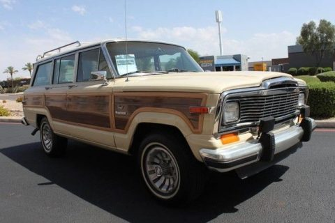 Absolute rarity 1984 Jeep Grand Wagoneer Limited 4X4 for sale