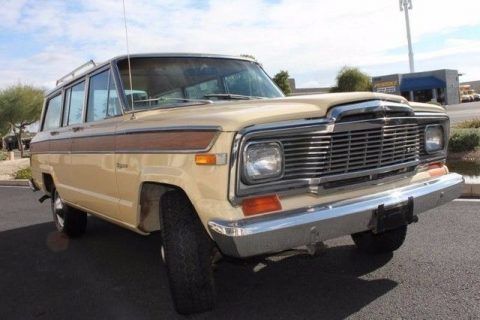 Decent mileage 1979 Jeep Wagoneer Brougham 4X4 for sale
