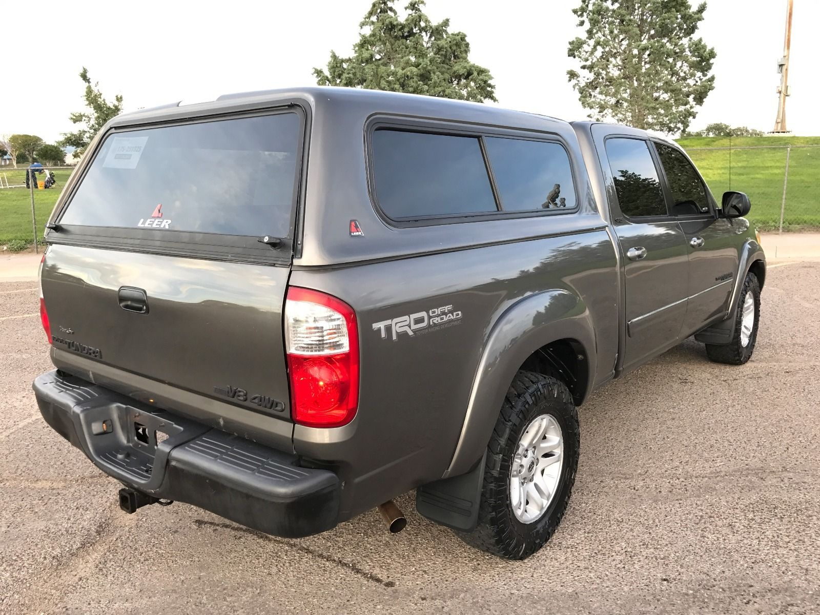 Extra Camper Shell 2005 Toyota Tundra Trd 4 4 For Sale