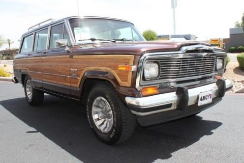 Metallic paint 1981 Jeep Wagoneer Limited 4X4 for sale