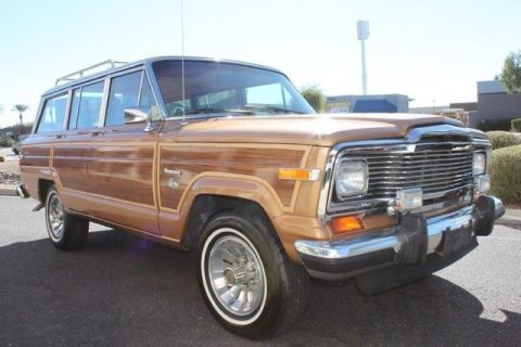 Mint condition 1983 Jeep Wagoneer Limited 4X4 for sale