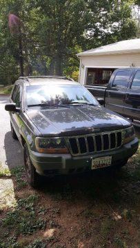 few dents 1999 Jeep Grand Cherokee LAREDO 4×4 for sale