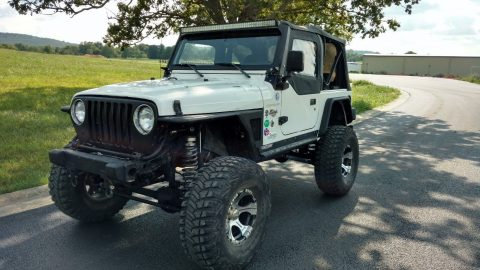 long arm lift 1999 Jeep Wrangler SE Sport Utility 4×4 for sale