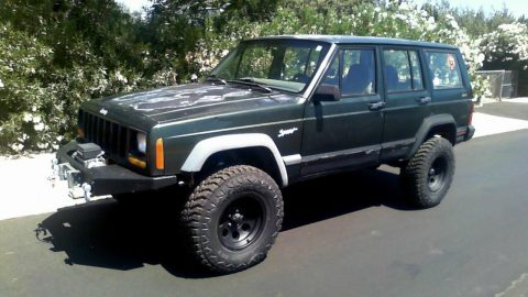 needs work 1996 Jeep Cherokee 4×4 for sale