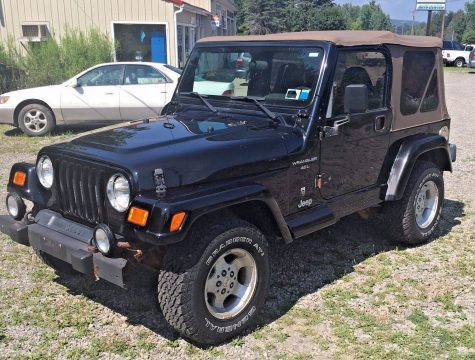 60th anniversary 2001 Jeep Wrangler 4X4 for sale