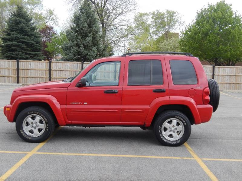 Clean 2002 Jeep Liberty Limited 4 215 4 For Sale