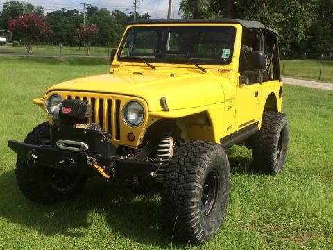 custom features 2001 Jeep Wrangler TJ 4×4 for sale