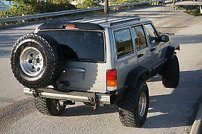 heavily modified 2001 Jeep Cherokee Sport 4×4