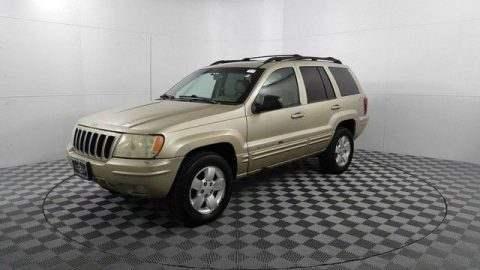 needs maintenance 2001 Jeep Grand Cherokee Limited 4×4 for sale
