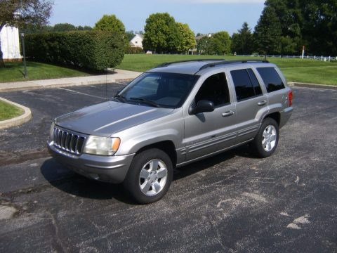 new parts 2001 Jeep Grand Cherokee Limited 4×4 for sale
