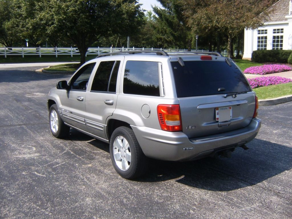 new parts 2001 Jeep Grand Cherokee Limited 4×4