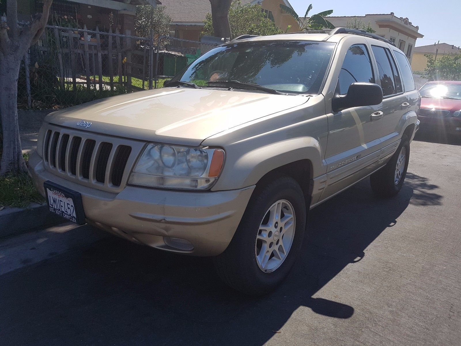 serviced 2000 jeep grand cherokee 4 4 for sale. Black Bedroom Furniture Sets. Home Design Ideas
