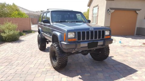 serviced 2001 Jeep Cherokee 4×4 for sale
