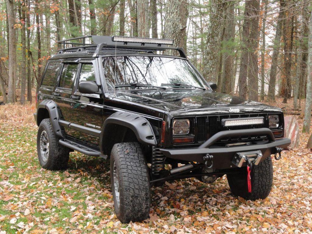 serviced 2001 Jeep Cherokee Sport 4×4