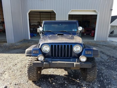 some upgrades and rust 2000 Jeep Wrangler SPORT 4×4 for sale