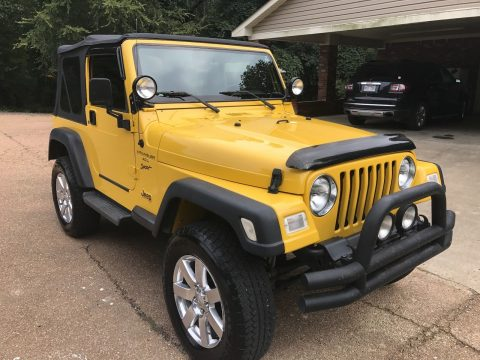 very good condition 2000 Jeep Wrangler Sport 4×4 for sale