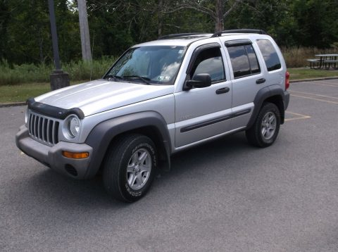 great shape 2004 Jeep Liberty Gray 4×4 for sale