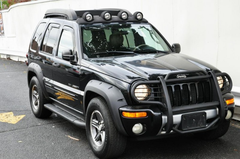 leather seats 2003 jeep liberty renegade 4 4 for sale. Black Bedroom Furniture Sets. Home Design Ideas