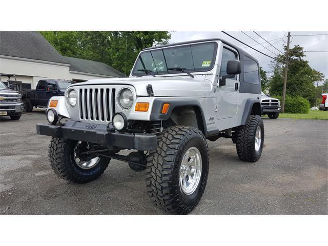 Loaded 2004 Jeep Wrangler Unlimited Sport 4×4