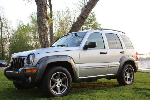 low mileage 2003 Jeep Liberty Rocky Mountain 4×4 for sale