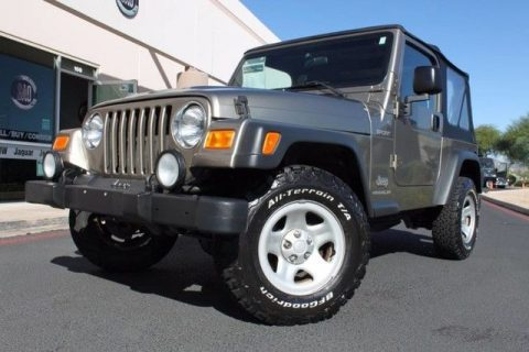 low miles 2004 Jeep Wrangler Sport 4×4 for sale