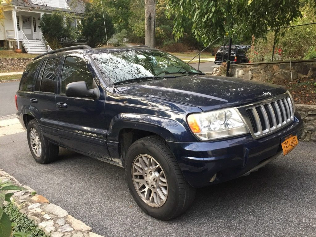 nicely equipped 2004 jeep grand cherokee limited for sale. Black Bedroom Furniture Sets. Home Design Ideas
