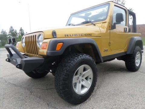 rare and original 2003 Jeep Wrangler RUBICON 4×4 for sale