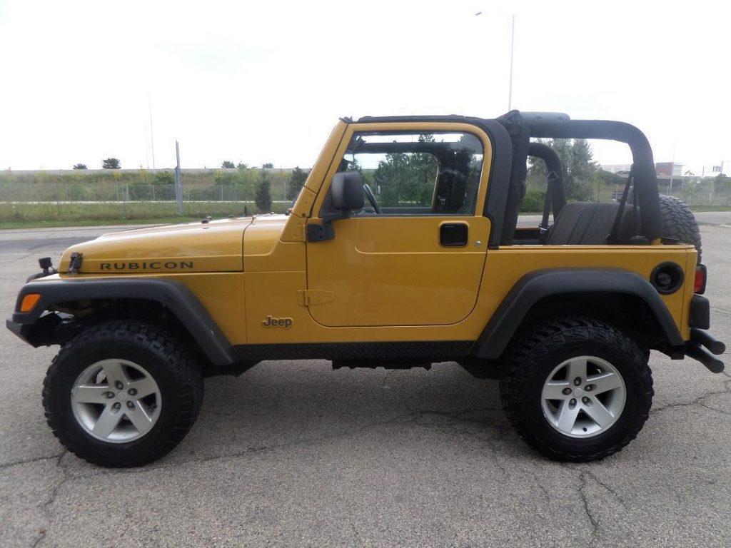 Rare And Original 2003 Jeep Wrangler Rubicon 4 215 4 For Sale
