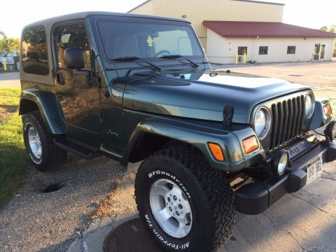 restored 2003 Jeep Wrangler Sahara 4×4 for sale