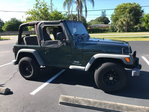 scratches in paint 2004 Jeep Wrangler 4×4 for sale