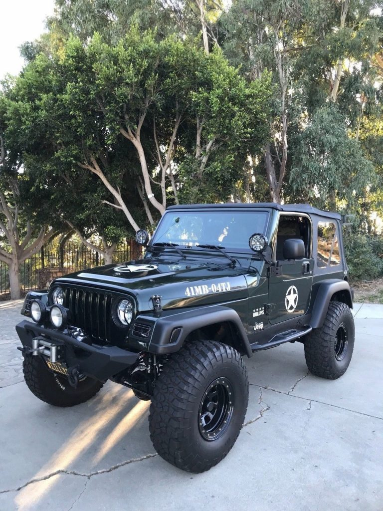Willys edition 2004 Jeep Wrangler 44 for sale