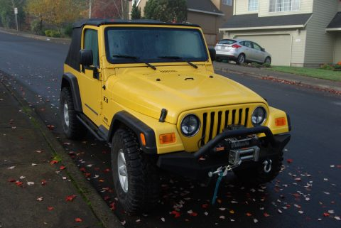extremely nice 2005 Jeep Wrangler X 4×4 for sale