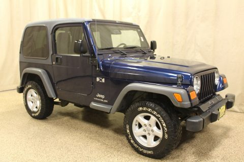 loaded 2005 Jeep Wrangler X 4×4 for sale