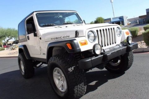 low miles 2005 Jeep Wrangler Rubicon 4×4 for sale
