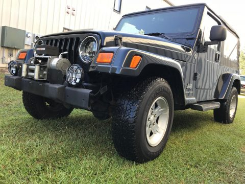 rust free 2005 Jeep Wrangler Unlimited 4×4 for sale