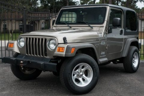clean 2006 Jeep Wrangler X 4×4 for sale