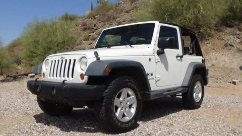 economical 2007 Jeep Wrangler X 4×4 for sale