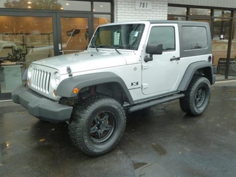 lifted 2007 Jeep Wrangler X 4×4 for sale