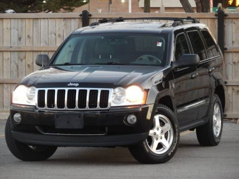 loaded 2006 Jeep Grand Cherokee Limited 4×4 for sale