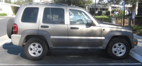low miles 2007 Jeep Liberty 4×4 for sale