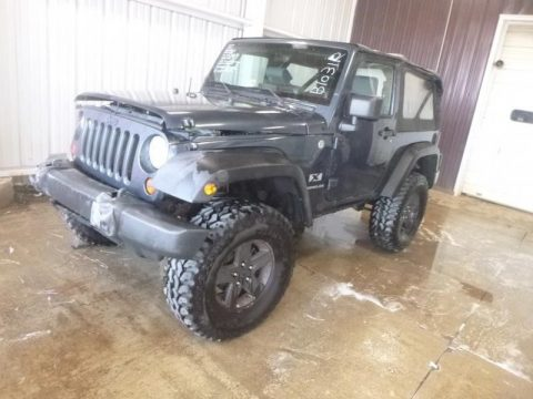 needs work 2007 Jeep Wrangler X 4×4 for sale