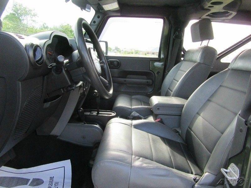 clean 2008 Jeep Wrangler X 4×4