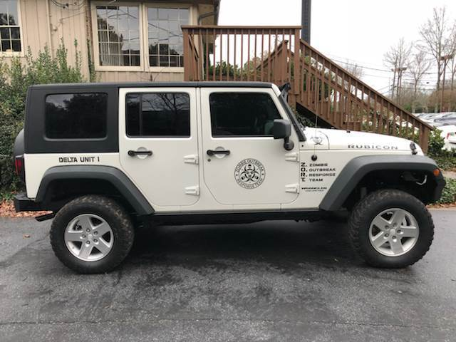 decent miles 2008 Jeep Wrangler Rubicon 4×4